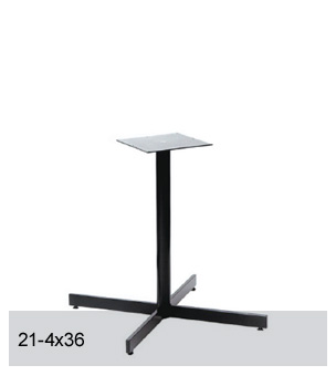 Base de table 21-4x36
