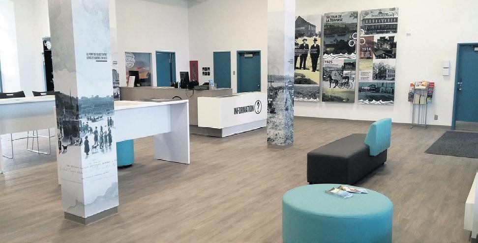 Bureau information touristique- Traverse Lévis-Québec